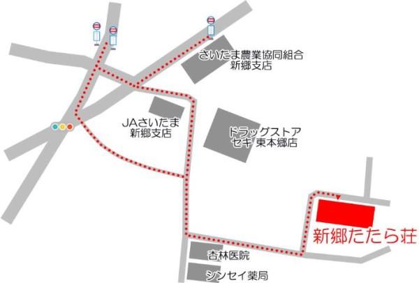 徒歩 案内図